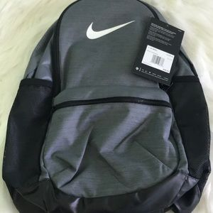 Nike Grey And Black Backpack